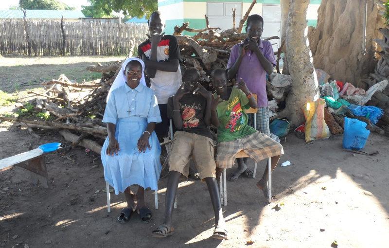 Bambini di strada a Rumbek