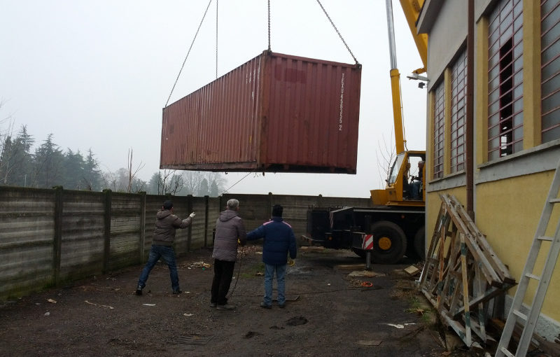 Container in partenza!