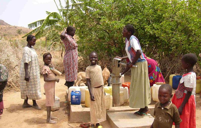 Pozzi di acqua potabile per Mupoi